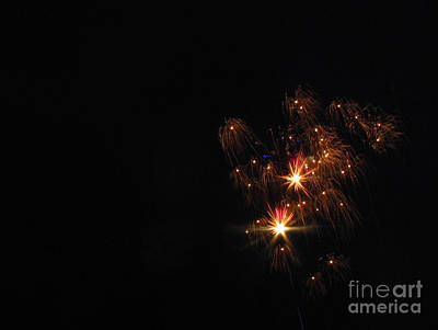 Photograph - Fireworks 01 by Ausra Huntington nee Paulauskaite