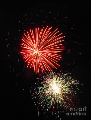 Photograph - Fireworks 04 by Ausra Huntington nee Paulauskaite
