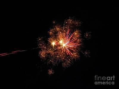 Photograph - Fireworks 05 by Ausra Huntington nee Paulauskaite