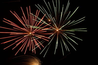 Photograph - Fireworks - 16 by Ron Read