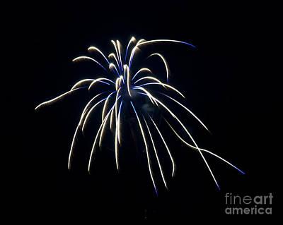 Photograph - Fireworks 4 by Mark Dodd
