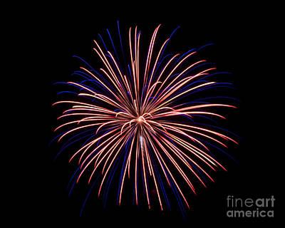 Photograph - Fireworks 7 by Mark Dodd