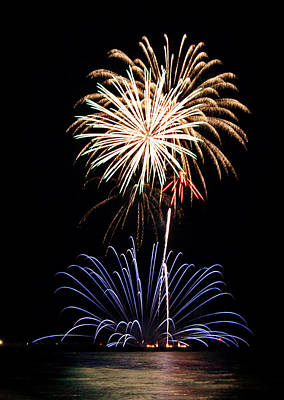 Photograph - Fireworks  Abound by Bill Pevlor