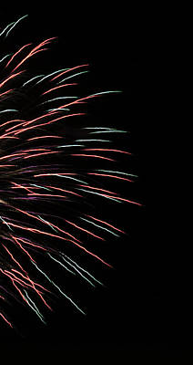 Photograph - Fireworks Abstract 1 by Marilyn Hunt