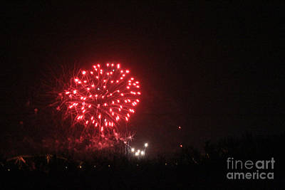 Photograph - Fireworks by David Grant