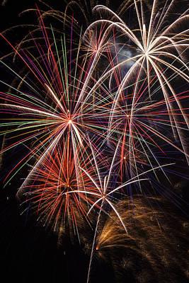 Fireworks Display Art Print