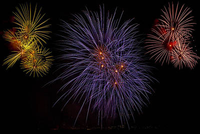 Fireworks Art Print by Joana Kruse