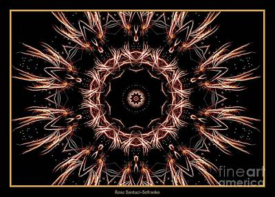 Photograph - Fireworks Kaleidoscope 7 by Rose Santuci-Sofranko
