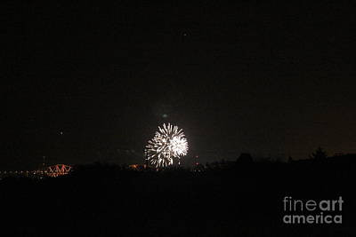 Photograph - Fireworks Night by David Grant