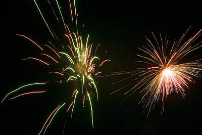 Fun Patterns - Fireworks by Patrick M Lynch