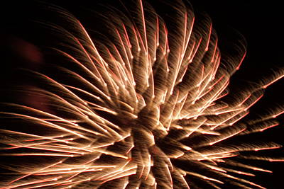 Photograph - Fireworks by Ron Read