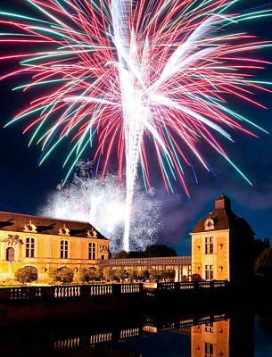 Fireworks Photograph - Fireworks by Tony Emmett