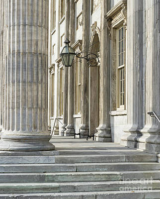 First Bank Of The United States Art Print by John Greim
