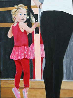 Painting - First Dance Class by Betty-Anne McDonald