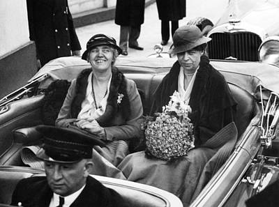 First Ladies Car At The 1933 Art Print by Everett