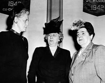 First Lady Bess Truman Attending Print by Everett