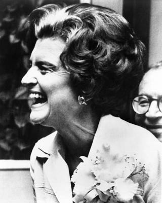 First Lady Betty Ford�s Campaigning Print by Everett