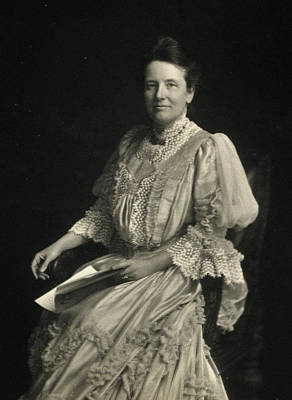 First Lady Edith Kermit Roosevelt, Wife Print by Everett