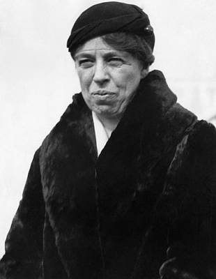First Lady Eleanor Roosevelt Art Print by Everett