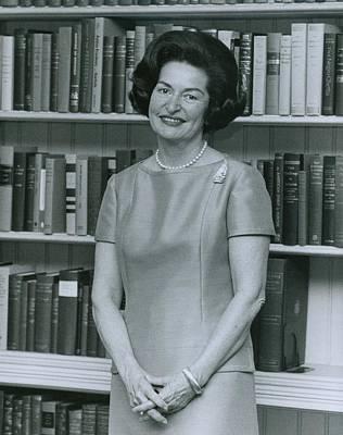 First Lady, Lady Bird Johnson, In 1964 Art Print by Everett