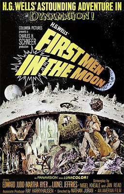 First Men In The Moon, Edward Judd Art Print by Everett