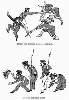 First Opium War: Soldiers Art Print by Granger