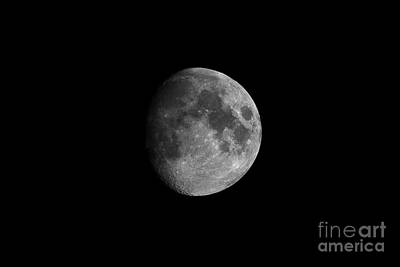 Photograph - First Quarter Moon by Yhun Suarez