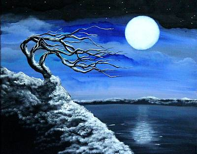 Painting - First Snow by Angie Phillips