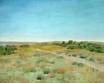 Big Skies Painting - First Touch Of Autumn by William Merritt