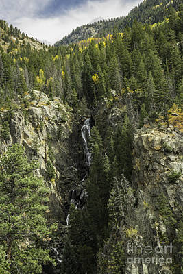 Photograph - Fish Creek Falls Steamboat Springs Co by David Waldrop