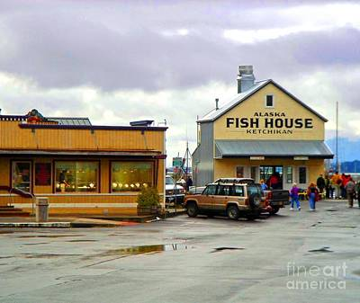 Photograph - Fish House by Phillip Allen