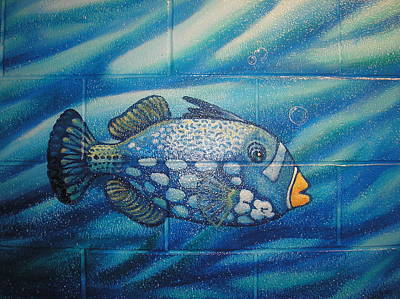 Painting - Fish by Igor Postash