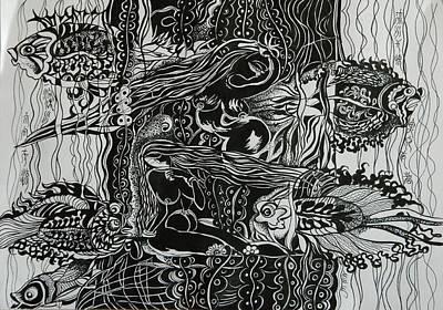 Fish River Art Print by Min Wang