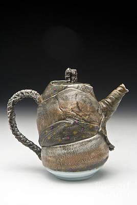Sculpture - Fish Teapot by Mark Chuck