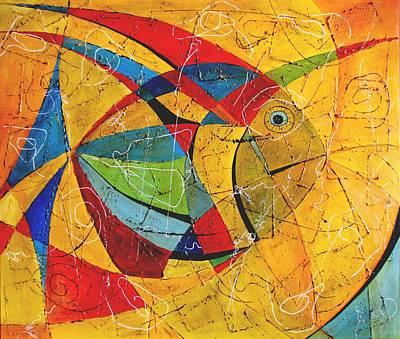Fish V Art Print