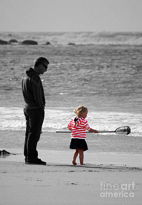 Photograph - Fish With Me Daddy by Terri Waters