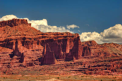 Fisher Towers Photograph - Fisher Towers Moab Utah by Ken Smith