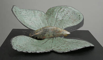 Sculpture - Fisherfly by Tania Kelvin
