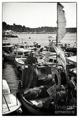 Fisherman Art Print by Madeline Ellis