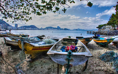 Fisherman's Day Art Print by Will Cardoso
