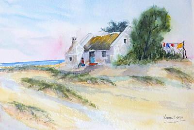 Painting - Fisherman's Sunday Morning Doze by Harold Kimmel