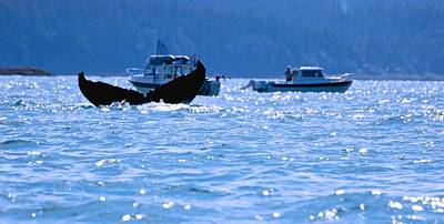 Photograph - Fisherman's Whale Tale by Eric Tressler