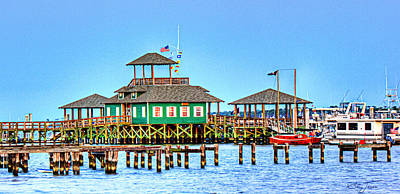 Photograph - Fisherman's Wharf by Barry Jones