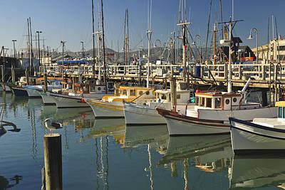 Fishermens Terminal San Francisco Art Print