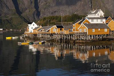 Architecture Photograph - Fishermen's Village Sakrisoy  by Heiko Koehrer-Wagner