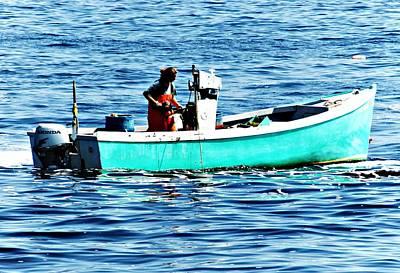 Photograph - Fisherwoman by Joe Faherty