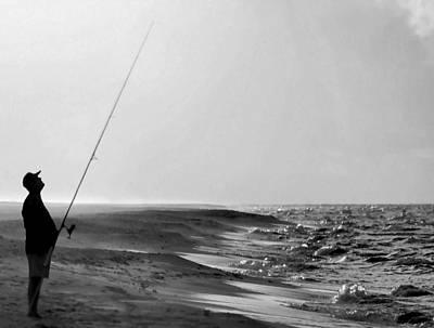 Photograph - Fishin The Gulf by Kristin Elmquist