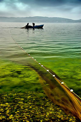 Fishermen Photograph - Fishing - 4 by Okan YILMAZ