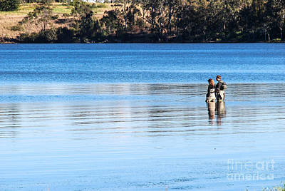 Photograph - Fishing At Myuna Bay by Fran Woods
