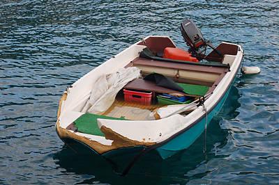 Katharine Hepburn - Fishing Boat in Nice France by Eva Kaufman